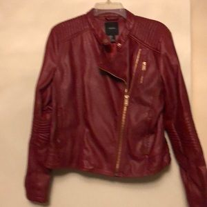 Burgundy/Red jacket